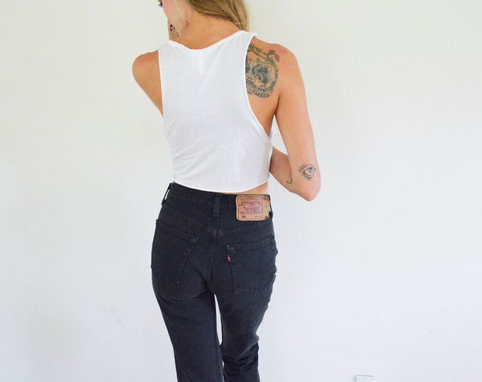LEVI'S 501 Faded Black Jeans