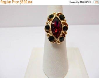 On Sale SARAH COVENTRY Rhinestone Adjustable Ring Item K # 797