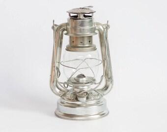 Vintage Firehand No. 276 Hurricane Lamp, Kerosene Lantern, Made in West Germany 1980's, Rustic Paraffin Oil Light, Hanging Lighting Garden
