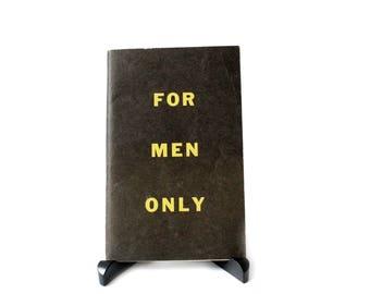 MEN ONLY - COOKBOOK