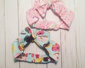 Donut or Unicorn Pre-tied Headwrap