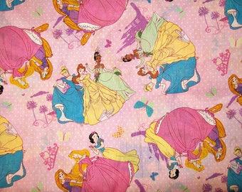 Child's Long Sleeve Art Smock -  Disney Princess - Pink