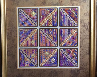 Stained Glass Windows Needlepoint
