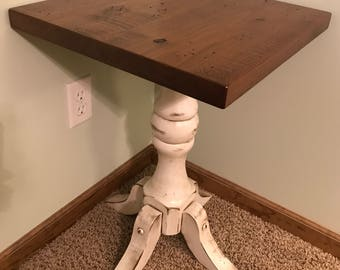 Foot-Style End Table