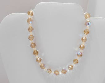 Gorgeous Multi-Colored Crystal Choker Necklace (5713)