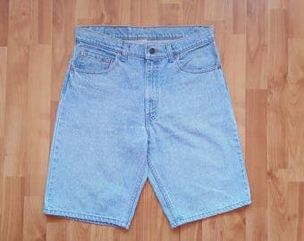 Vintage Levi's shorts Denim Shorts Levis denim shorts Size waist 33 inches Nr. 31