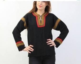25% OFF Vintage Black Wool Sweater