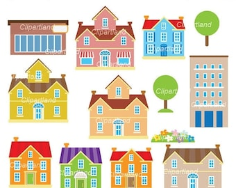 House Clip Art Cha 1 Personal And Commercial Use