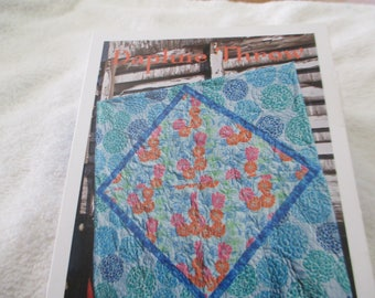 """Paper Pattern for a quilt called Daphne Throw by Valori Wells 60"""" square"""