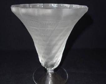 Lalique Crystal Vase