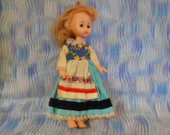 1978 Vogue Ginny Doll- 8 Inches Tall