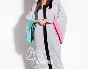 SALE ON 20 % OFF Grey Maxi Dress/Long maxi dres/ Caftan/ Abaya/ Plus size dress/ Plus size clothing/ Elegant dress/ Plus size maxi dress/ Ka