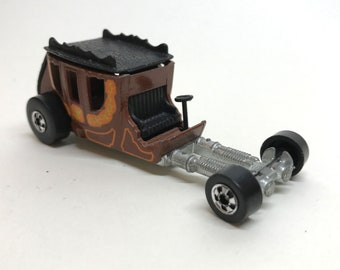 Vintage 1977 HOT WHEELS Stagefright Black Line Hot Rod Stagecoach