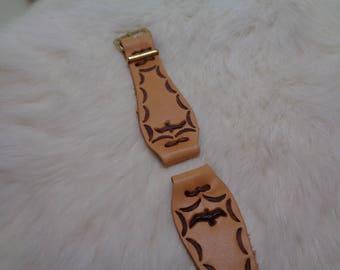Leather Bird Watch Band