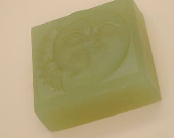 Spellbound Woods Glycerin Soap-Handmade Celestial Bar-Biodegradable Shrink Wrap-Very relaxing scent