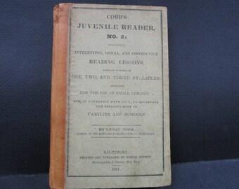 Antique  1831 reader Juvenile book