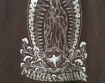 Black Maria Sabina Hongos los Mágicos T-shirt