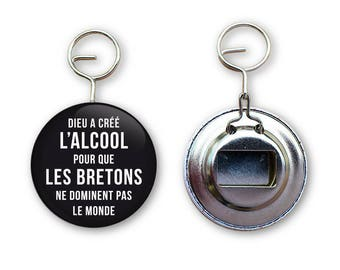 Keychain bottle opener Brittany quotes