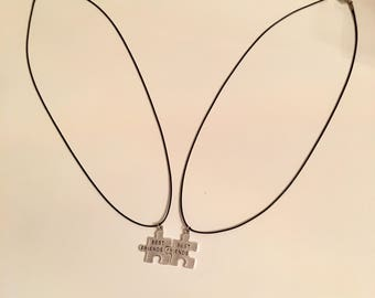 Best Friends Necklaces, Puzzle Best Friends , BFF Necklace, Gifts For Friends, BFF Heart Necklaces, Friendship Necklace , Christmas Gifts,