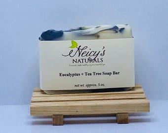 Eucalyptus Tea Tree Soap Bar