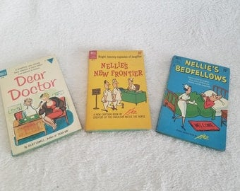 Dear Doctor, Nellie's New Frontier, Nellie's Bedfellows Books, First edition, and First printing