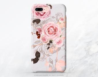 iPhone X Case iPhone 8 Case iPhone 7 Case Rose Floral iPhone 7 Plus Case iPhone 6s Case iPhone SE Case iPhone 6 Galaxy S8 Plus Case T198