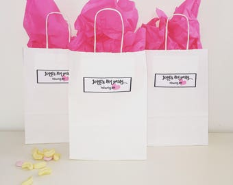 Personalised Hen Party bag - unfilled