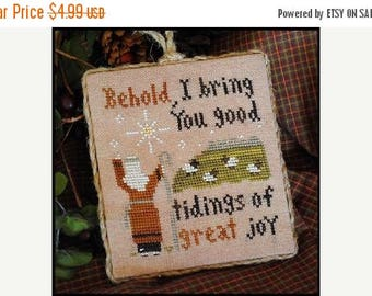 Fathers Day Sale Little House Needleworks Good Tidings 2011 Ornament No 12 Counted Cross Stitch Pattern
