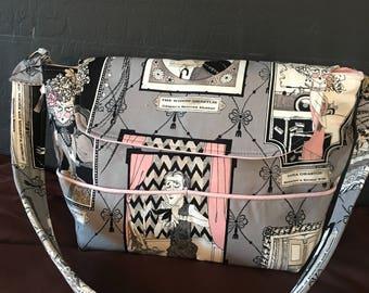 The Ghastlies crazy goth purse/ punk bags