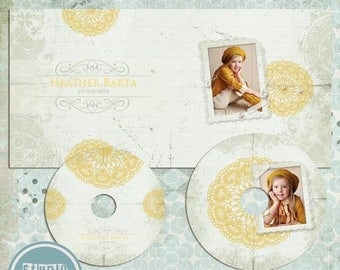 ON SALE NOW Cd dvd Single Case, 2 cd/dvd Labels, psd templates - Instant Download