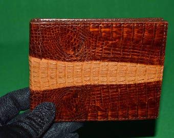 Vintage Wallet Purse Real Genuine Skin