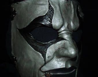 SILVER JESTER HALF Mask