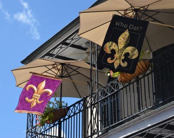 Travel Photography-Symbol Of New Orleans-Fleur de Lis, NOLA, Souvenir, French, Southern USA, French Quarter, Bourbon St, The Big Easy, Gift