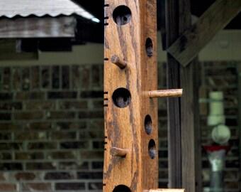 Suet Red Oak Bird Feeder, 14 inch