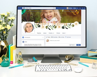 Easter Beginnings Facebook Timeline Cover Template