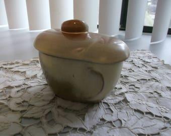 Frankma Plainsman Desert Gold Covered Sugar Bowl