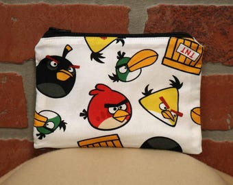 One Snack Sack, Angry Birds, Reusable Lunch Bags, Waste-Free Lunch, Machine Washable, Back to School, School Lunch, item #SS56