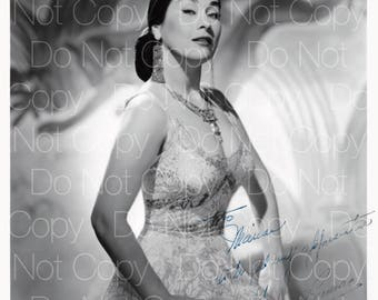Yma Sumac signed Exotica 8X10 photo picture autograph poster RP