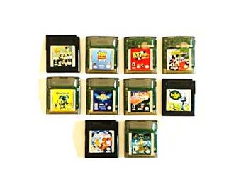 Choose your own Walt Disney Nintendo Gameboy Color Game(s)