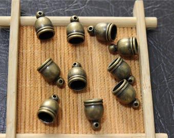 50 tip to tassel charm bronze