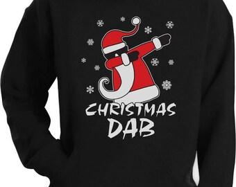 Dabbing Santa Christmas Dab Funny Xmas Hoodie
