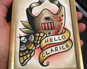 Original Painting - Hello Clarice