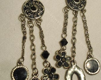 Earrings vintage/pierced (288)