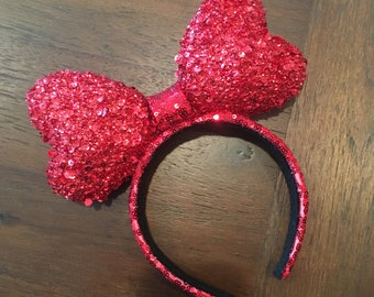 Red Love Bow