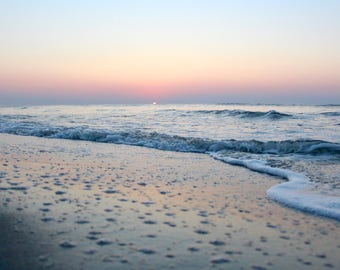Sunrise Beach Print