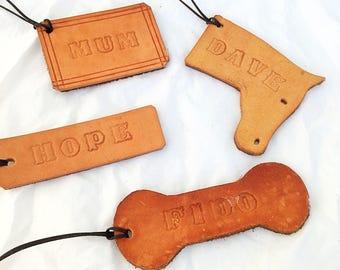 Personalised Leather Keyring, Personalised Keyring, Leather Keyring, Personalised Keyring Leather, Leather Keyring Tag, Leatger Tags,