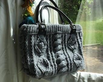 Cabled Handbag
