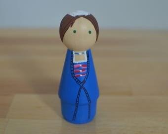 Peg Doll based on Felicity