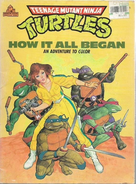 like this item - Teenage Mutant Ninja Turtles Coloring Book