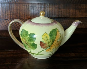 Original Signed Numbered Rometti Umbertide Italy teapot